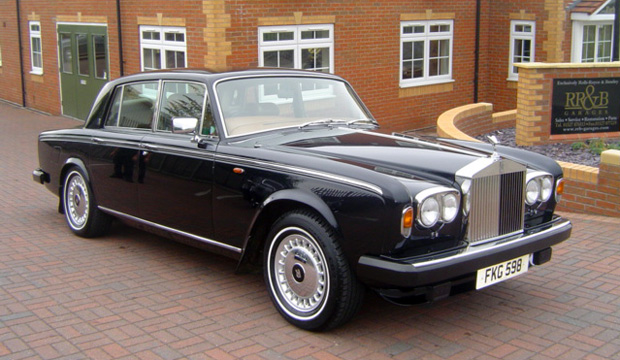 Rolls Royce Silver Shadow II - outside RR&B