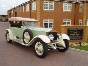 1921 Rolls-Royce Silver Ghost Wilkinson Tourer