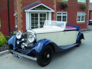 1933 Bentley 3½ litre Park Ward DHC