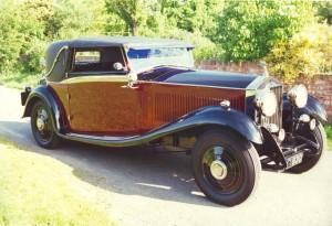 1933 Rolls-Royce 20-25 frestone & Webb Sedanca