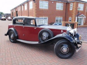 1934 Rolls Royce 20-25 Freestone and Webb