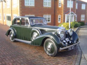 1937 Bentley 4¼ Thrupp & Maberly