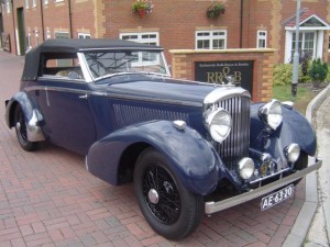 1937 Bentley 4¼ Vesters & Neirinck