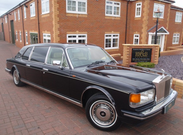 Rolls Royce Silver Spur Touring Limousine Rr Amp B Garages