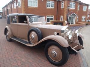 1930 Rolls Royce Phantom II Kelner Sedanca