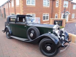 1934 Rolls Royce 20 25 Barker Sedanca