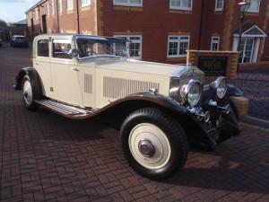 1934 Rolls Royce Phantom II Continental Freestone Webb