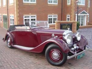 1938 Bentley 4¼ Hooper DHC