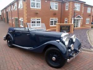 1938 Bentley 4¼ MR VDP