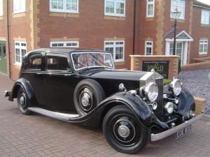 1938 Rolls-Royce 25 30 Thrupp & Maberly
