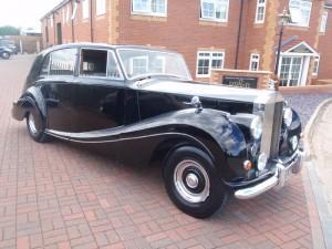 1956 Rolls Royce Silver Wraith Mulliner