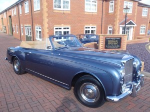 1957 Bentley S Type Continental Park Ward DHC
