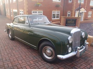 1959 Bentley S Type Continental Park Ward Coupe