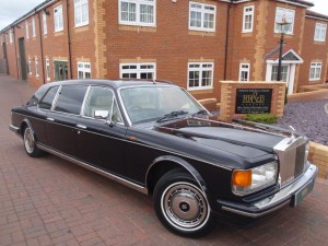 1992 Rolls Royce Touring Limousine