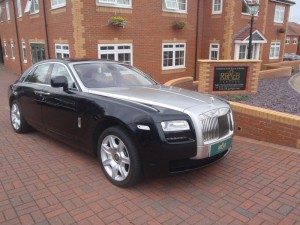 2010 Rolls Royce Ghost.
